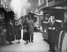 25th November 1933: Berwick Street Market in Soho, London. (Photo by Fox Photos/Getty Images)