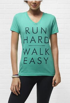 Run Hard. Walk Easy. #running #gear #motivation #nike