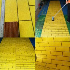 Used Carpet Runners For Sale Key: 8443325265 Wizard Of Oz Play, Wizard Of Oz Decor, Diy Halloween Decorations, Halloween Diy, Holiday Decorations, Carpet Underlay, Library Themes, Dance Themes, Halloween Ideas