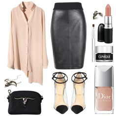 the nude black. by goldiloxx on Polyvore