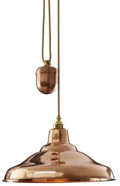 Rise and Fall School Light Pendant