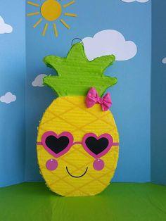 Pineapple Pinata. Pineapple Birthday Party. Tuttifrutti