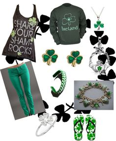 I love all of it.. I'm half Irish so I'm loving the green and shamrocks and the Claudia..:-) :-) :-)