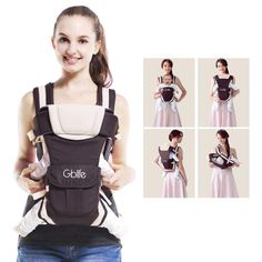 buy products with less price  GBlife Porte Bébé Ergonomique Multiples  Positions . d0d86d40896