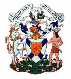 Nova Scotia, crest, Coat of Arms Canadian Coat Of Arms, I Am Canadian, Canadian History, Canadian Flags, The Path Of Glory, Murdoch Mysteries, Atlantic Canada, Fur Trade, Canada Eh