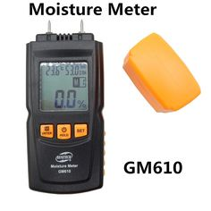 24.68$  Buy now - http://ali80c.shopchina.info/go.php?t=32800689141 - BENETECH GM610 Digital LCD Display Wood Moisture Meter Humidity Tester Timber Damp Detector Hygrometer Range 0~70% 2Pins 24.68$ #buyonline