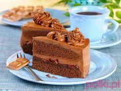 Ciasto czekoladowe - przepis składniki i przygotowanie -Przepis