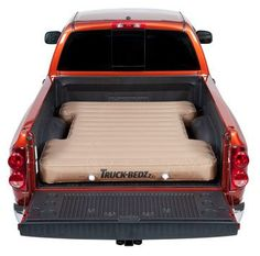 Awesome! Ute tray airbed mattress... Just load it with blankets and pillows and watch the stars! YES! NEED! #product_design