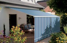 Very Small Enclosed Porch Ideas   Markilux Open Awning