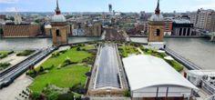 Cannon Bridge Roof Gardens, City of London