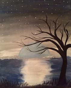 Paint Nite Edmonton | Ed's Rec Room (West Edmonton Mall) 08/24/2015