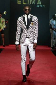 Abrantie The Gentleman Elmina Fashion Festival 2015, Lomé, Togo - #Menswear #Trends #Tendencias #Moda Hombre