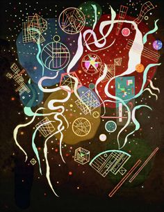 "Wassily Kandinsky - ""Movement I"", 1935"