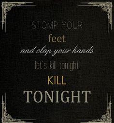 Let's Kill Tonight: P!atD