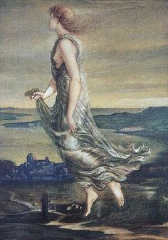 Evening Star by Sir Edward Burne-Jones :: artmagick.com