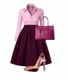 I used to envy stylish women so much before, I felt like it was impossible to make my clothes look that good and put together. Classy Dress, Classy Outfits, Stylish Outfits, Work Fashion, Modest Fashion, Fashion Dresses, Midi Dresses, Church Attire, Office Outfits