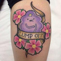 nerdy tattoos - LSP adventure time