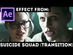 How to make effect from Transition Effect from Suicide Squad movie 2017 Support my channel - Buy yourself an awesome After Effects Template here - https://vi...