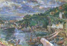 Oskar Kokoschka (1886‑1980) Title Polperro II Date 1939 Medium Oil paint on canvas Dimensions support: 606 x 864 mm frame: 761 x 1026 x 86 m...