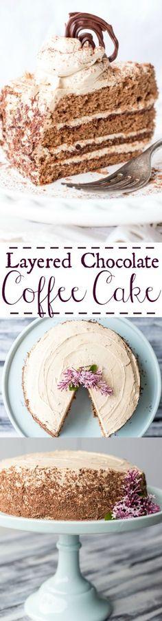 Slow Cooker: Layered Chocolate Coffee Cake - Valentina's Corner...