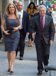 Kathie Lee Gifford and Regis Philbin were spotted on an outing in New York