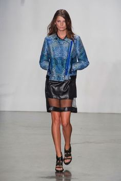 Helmut Lang Spring '13 | The Fashion a Dress
