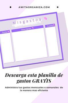 Organizing, Organization, Map, Diaries, Finance, Printables, Note Cards, Getting Organized, Organisation