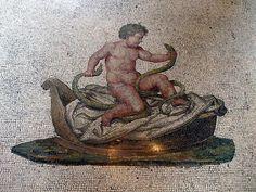 Mosaic - Bacchus Room - Villa Torlonia.
