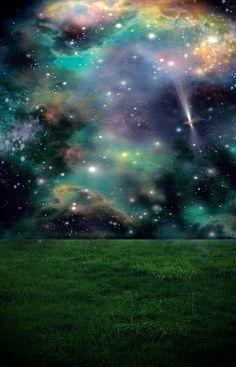 Starry Night Background Stock by RavenMaddArtwork