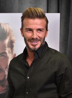 David Beckham Photos Photos - Professional soccer player David Beckham launches the new H&M Modern Essentials Campaign at H&M on September 26, 2016 in Los Angeles, California. - David Beckham Launches New H&M Modern Essentials Campaign