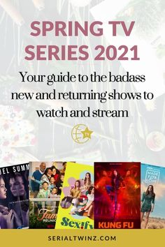 Hey Serial Fans and welcome to the Spring TV Series 2021: Your Guide To The Badass New And Returning Shows. In this guide, we are recommending you the best TV series to watch and stream this Spring. And in the Spring TV series 2021 guide, we have selected only the best badass new and returning shows premiering or released in April 2021. We selected fantasy, comedy, drama. action, dramedy, and more series. #TVSeries #TVShows #BestTVShows #ShowsToWatch Comedy Tv Series, Comedy Tv Shows, Tv Series To Watch, Jessalyn Gilsig, Laura Donnelly, Famous In Love, Unbreakable Kimmy Schmidt, Drama Tv, Fantasy Tv