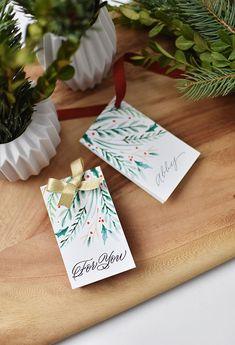 Printable Gift Tags from Melissa Esplin