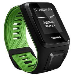 TomTom Runner 3 Music, GPS Fitness Watch, 3 GB Music & Bluetooth Headphones (Small)