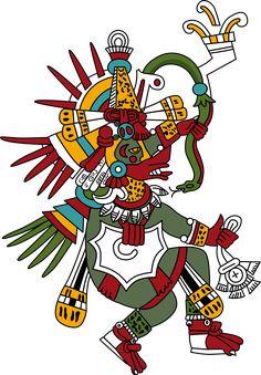 mitologia AZTEKÓW pierzasty wąż