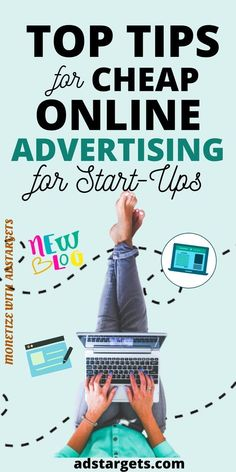 Here are top tips for cheap #OnlineAdvertising for start-ups. Mobile Advertising, Advertising Campaign, Online Marketing Strategies, People Online, Target Audience, Do You Know What, Online Business, Finance