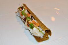 razor clam, Osteria Francescana, Modena. Italy. chef Massimo Bottura.