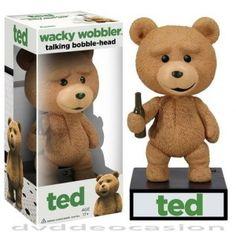 FIGURA CABEZON TED THE MOVIE - TED … Comprar de Ocasión, Figura cabezón de 15 cm del personaje principal de la película TED. Presentado en caja ilustrada con ventana.