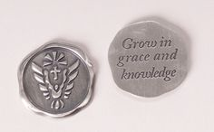 Confirmation Token at St. Patricks Guild, a Catholic Gift Store, has served churches and the public since Catholic Books, Catholic Gifts, Religious Gifts, Holy Spirit Come, Graduation Crafts, Grow In Grace, Confirmation Gifts, Wax Seals, Gift Store