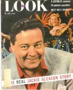 1954 Look January June 1 Jackie Gleason Ben Hogan Golf Minster Ohio Hurricane Jackie Gleason, Back In The Day, Chemistry, Ohio, Movie Tv, Acting, Comedy, Dads, It Cast
