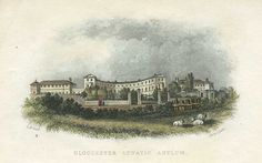 Gloucester Asylum, where Amelia Dyer was confined twice in the early Mental Asylum, Insane Asylum, Abandoned Asylums, Abandoned Places, Room 237, Gloucester, Serial Killers, Macabre, Dark Side