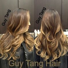 Ombré color I did that's 4months old | Yelp