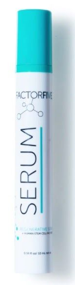 FACTORFIVE Regenerative Serum Mini, beauty, human stem cell growth factors, copper peptides, niacinamide, green tea, anti-aging skincare, wrinkles,