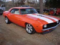 Orange Camaro....nice