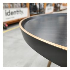 Dish detailing with a gold edge. Our Piatto Low Table, built in Australia, is highly customisable with a range of timber options and finishes available on request. ➡️ See the full product details on our website. #piattolowtable #coffeetable #identityfurniture #interiordesign #interiordesignaustralia #interiorideas #handmade #madeinaustralia #furnituremaker #woodworker #woodwork #stainedtimber #brass