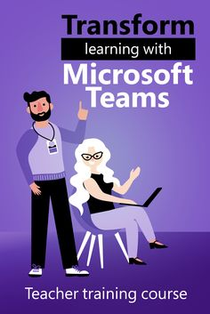 In this introduction course, educators learn the basics of Teams and how they can implement its features into their classroom Microsoft Classroom, Online Classroom, Microsoft Office, Teaching Strategies, Teaching Resources, Office 365 Education, Team Teaching, Educational Technology, Medical Technology
