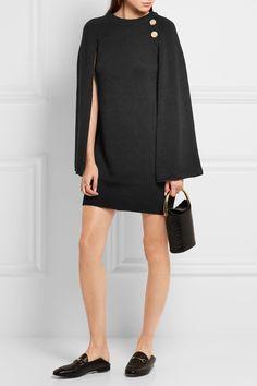 Vanessa Bruno dress, Stella McCartney bag & Gucci slippers
