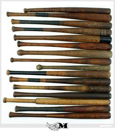 v. cool baseball bat collection