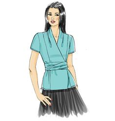 Butterick Top and Tunic, B5785
