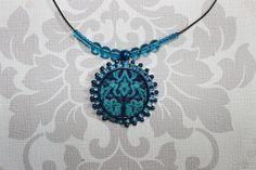 von YanaY auf Etsy Made Clothing, Damask, Turquoise Necklace, Bohemian, Etsy, Vintage, Handmade, Clothes, Jewelry