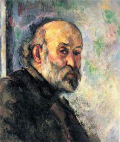 Self-Portrait, 1895, Paul Cezanne